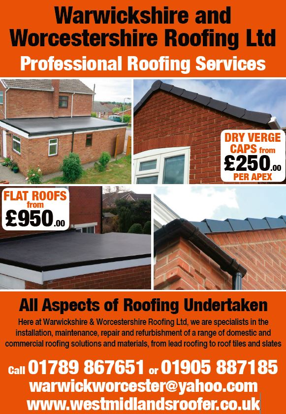 The Arrow Advertiser Roofing In Stratford Upon Avon