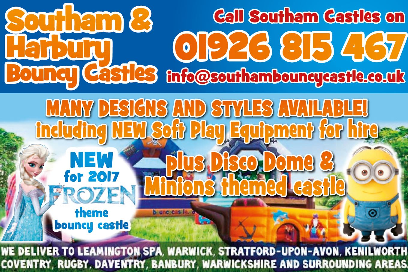 southam bouncy castles