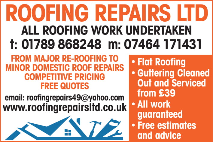 roofing repairs october 2019