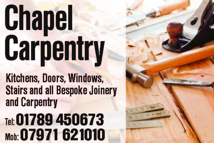 chapel carpentry jan 15