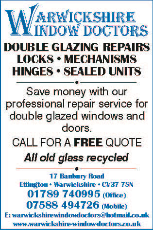 Warwickshire Window Doctor