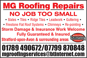 MG Roofing Repairs