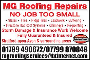 MG Roofing Repairs