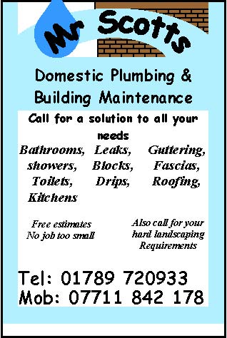 scotts plumbing stratford upon avon