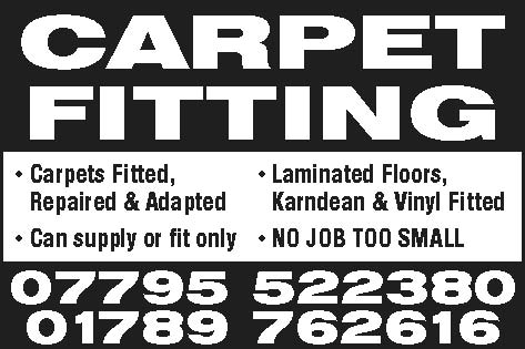 colin hurford carpet fitter stratford upon avon