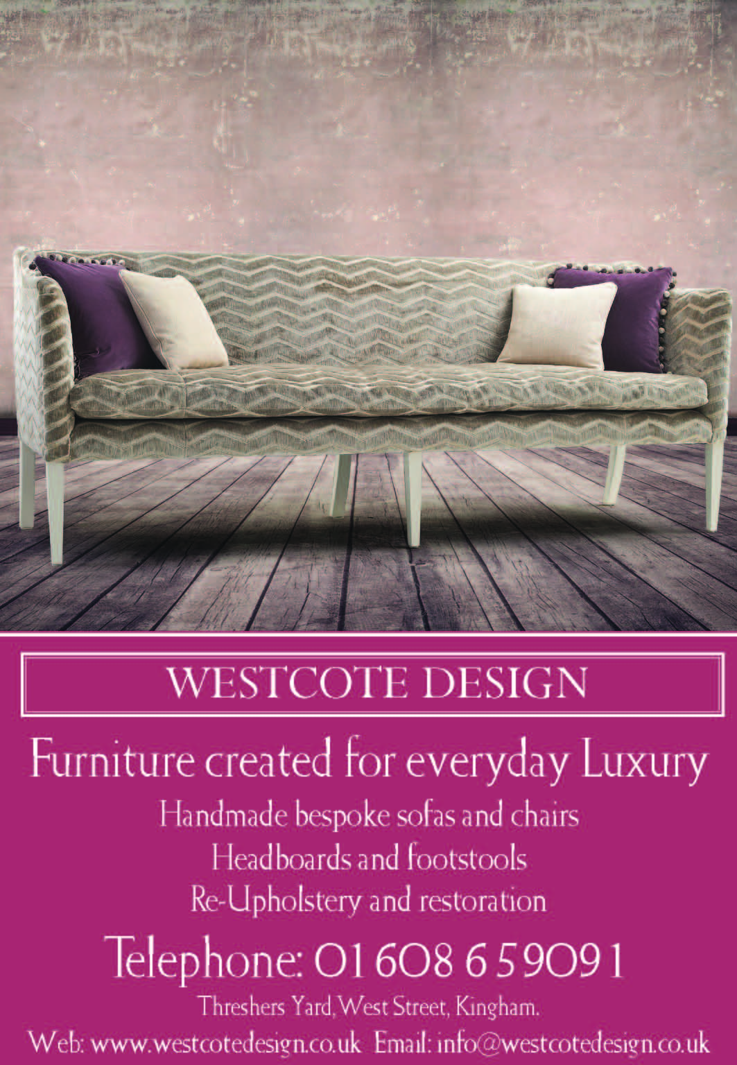 westcote design - bespoke furniture stratford upon avon