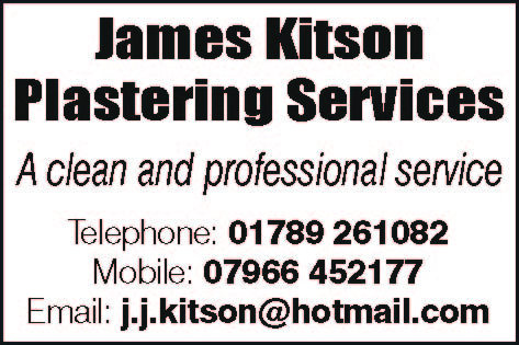 james kitson plastering stratford upon avon