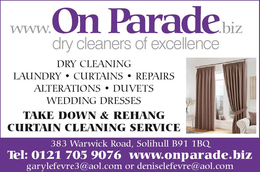 ON PARADE DRY CLEANERS ALCESTER