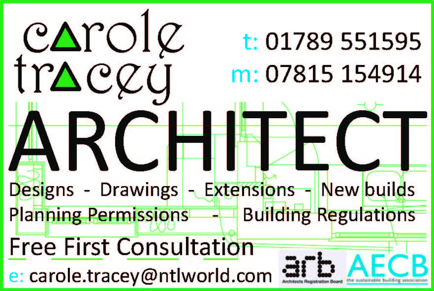 carole tracey - architect - stratford upon avon