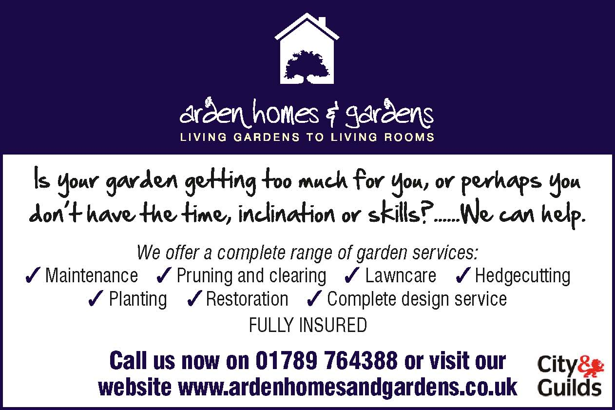 arden homes and gardens alcester