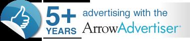 FIVE YEARS ADVERTISING