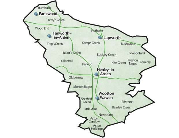 Henley Villages Map