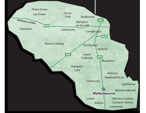 Warwick Villages Map
